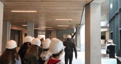 Sortie projet architecture: visite du chantier de la Bastide Rouge